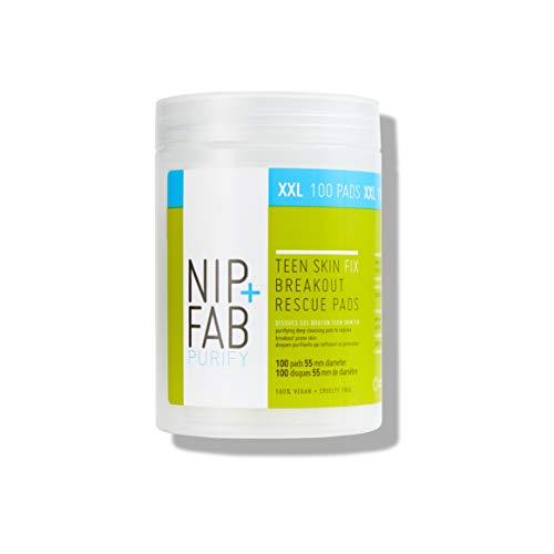Nip+Fab Teen Skin Fix Breakout Rescue Pads Xxl