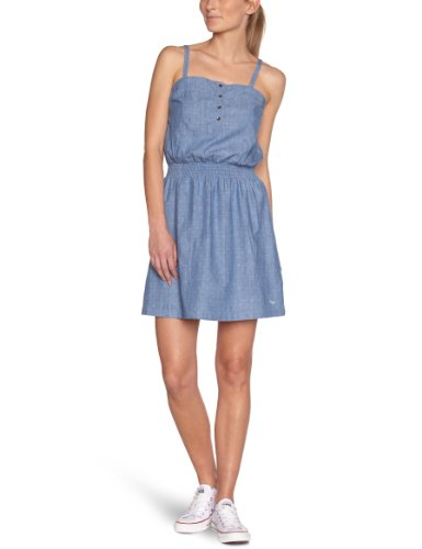 Roxy Damen Kleid L Blau - Bleu (Chambray Super)