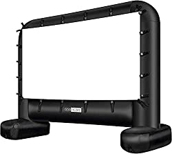 cheap VIVOHOME 14ft Inflatable Mega Projection Screen with Carry Bag Indoor and Outdoor…