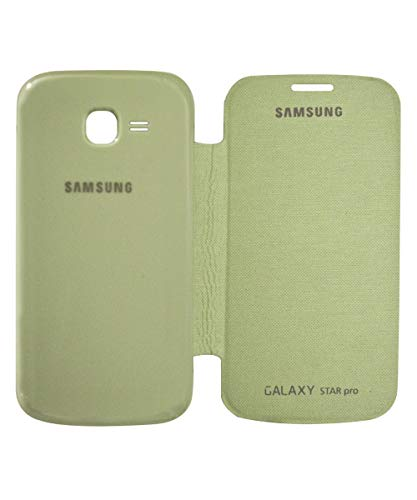 covernew flip cover for samsung galaxy star pro s7262 - green