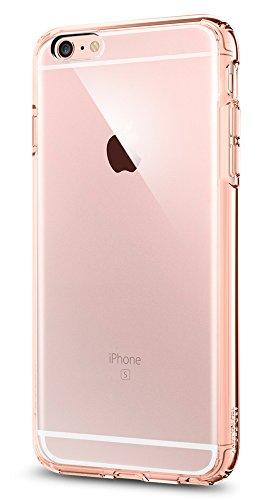 Spigen, Funda iPhone 6s+ Plus Ultra Hybrid. Funda iPhone 6S Plus con Tecnología de Cojín de Aire y Protección Híbrida para iPhone 6S Plus 2015 - Rosa Cristal