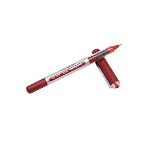 Uni-ball Eye Micro Ub-150 Gel Ink Pen - 0.5 Mm - 10 Pcs - Uni Mitsubishi Pencil (Red) Photo #2