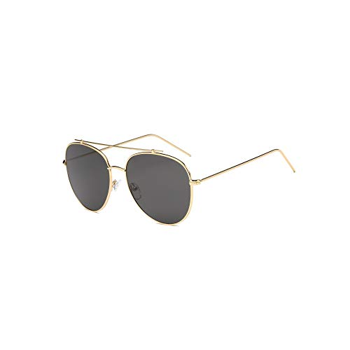AKCESSORYZ Gafas de sol estilo aviador clásicas con espejo