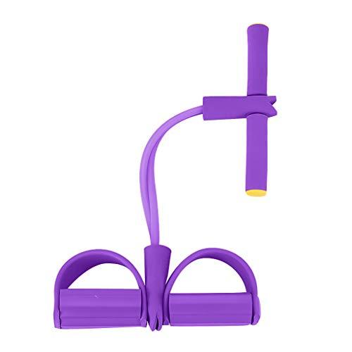Yoga Tobillera Multifunción Pedal Ejercitador Sit-up Cuerda Yoga Cuerda Sit Up Esterilla Esterilla Elástica Cuerda para Adelgazar Resistencia Entrenamiento Ejercicio Fitness Abdomen Entrenador