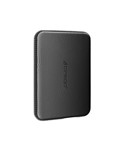 Cirago 外付けHDD ポータブルハードディスク 320GB スリムタイプ USB3.0 テレビ録画/PC/Mac/PS4/XBox対応 (Black)