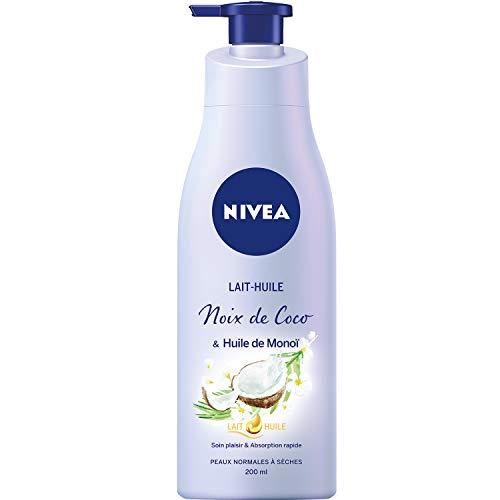 NIVEA Lait-Huile Noix de Coco/Monoï 200 ml