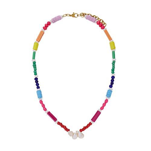 Parfois - Collar Joyfull Beads - Mujeres - Tallas Única - Multicor Brilhante 1
