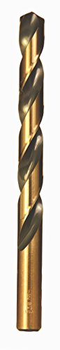 Viking Drill and Tool 92240#38 Type 240-UB 135 Degree Split Point Magnum Super Premium Jobber Drill Bit (12 Pack)