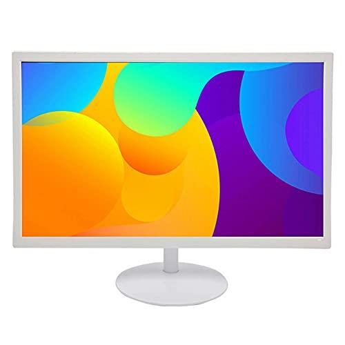 AXUN Monitor de computadora portátil, Monitor de Pantalla IPS de Panel Plano Full HD montado en la Pared de 19/20/24 Pulgadas, con Enchufe Vga + hdml, Adecuado para computadoras portátiles y