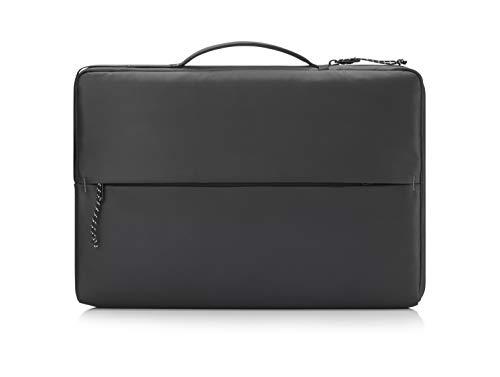HP - PC Sport Sleeve per Notebook fino a 14 , Vano PC Imbottito, Dettagli Catarifrangenti, Tasche Organizer, Tessuto Impermeabile e Robusto, Nero