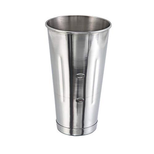 (8 Pcs.) 30 Oz. SafePro Malt Cup Stainless Steel Milkshake Ice Cream Mixer Mixing Cup 8 PACK