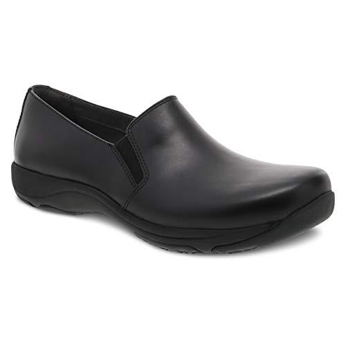 Dansko Women's Nora Black Leather Slip On Comfort Shoe 8.5-9 M US
