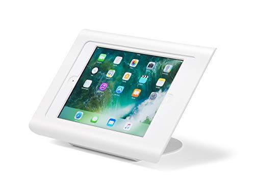 Tabdoq Anti-Theft uchwyt na biurko kompatybilny z iPad 2019 10,2 cala i iPad Air 10,5 z dostępem do przycisku Home i kamery przedniej