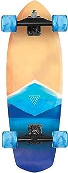 Landyachtz Pocket Knife Watercolor Surfskate Longboard Skateboard