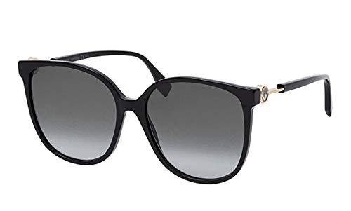 FENDI FF 0412/S Gafas, 807, 58 para Mujer