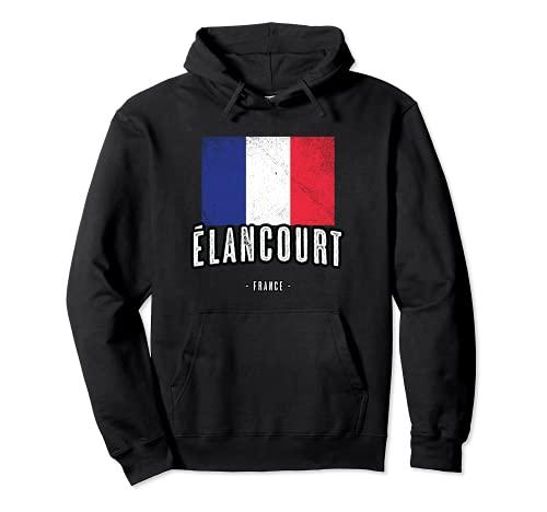 Ville de Élancourt - France | FR - Drapeau Français - Sweat à Capuche