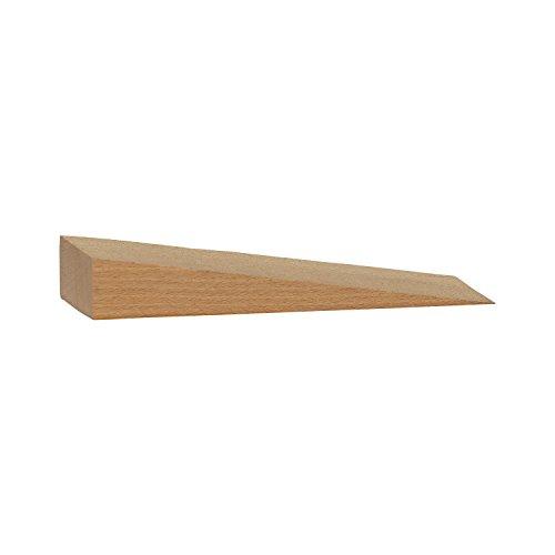 Ebner 809–Cuña de madera de haya, 40x 30x 8mm, 50unidades)
