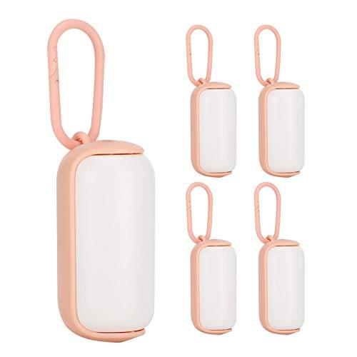Material plástico, Caja para desechos de mascotas, para desechos de mascotas limpios,(Pink+white)