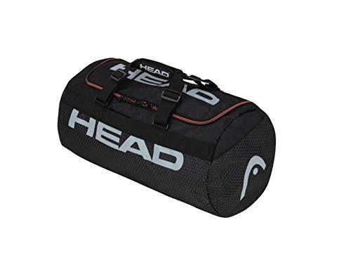 HEAD Tour Team Club Bag Sac de Raquette de T Adulte Unisexe, Noir/Gris, Taille Unique
