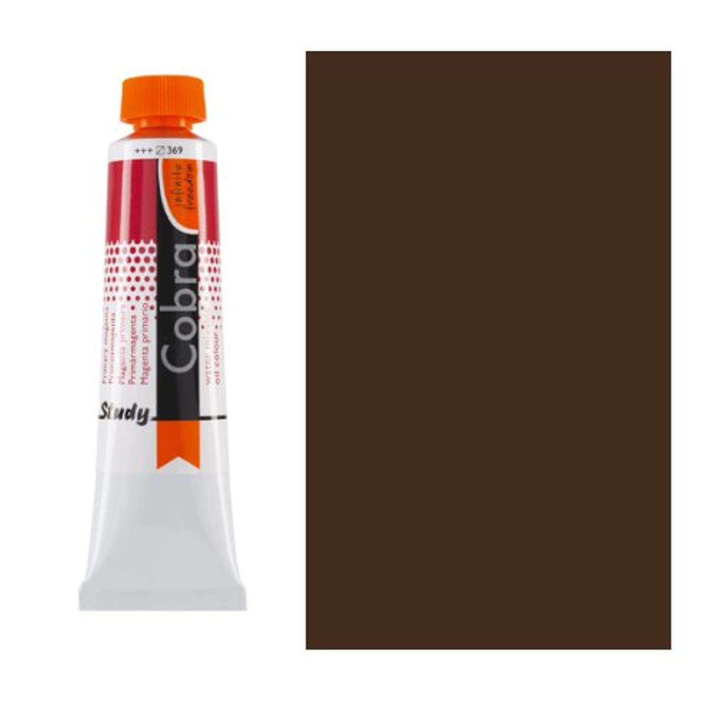 Royal Talens Cobra Artists' Water Mixable Oil Color, 40ml Tube, Vandyke Brown (25054030)