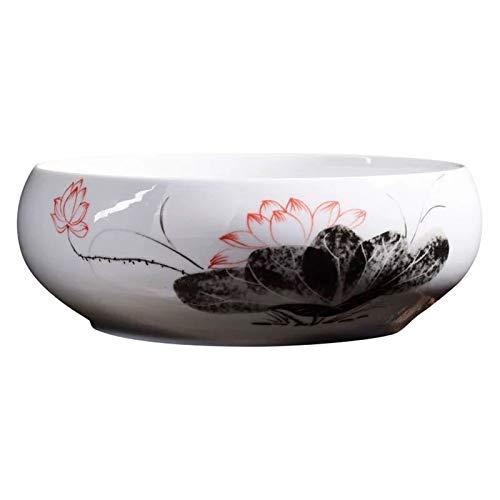 ZQDL Maceta suculenta de cerámica estilo chino para suculentas, maceta para bonsái, contenedor para decoración del hogar