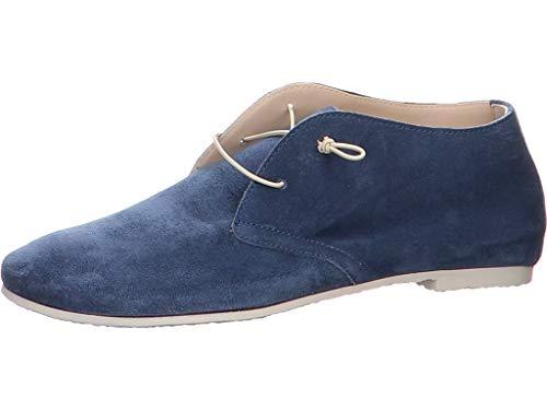 Donna Carolina Damen Schnürschuh in Blau Größe 40 EU Blau (blau)