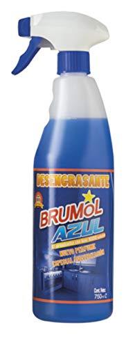 Brumol Desengrasante Azul con Pistola - Paquete de 15 x 750 ml - Total: 11250 ml