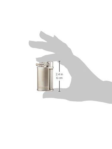 RONSON(ロンソン)ライタークラシックフリント式サテン仕上げダイアシルバーR23-0001