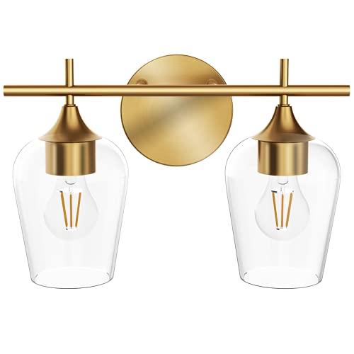 Hamilyeah Gold Bathroom Lighting Fixtures Over Mirror,...