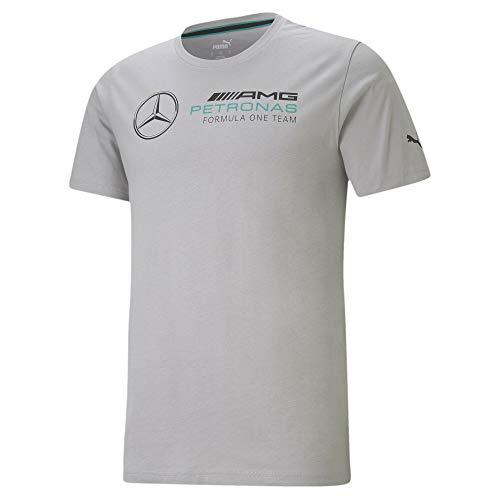 PUMA Mercedes F1 Logo Herren T-Shirt Mercedes Team Silver M
