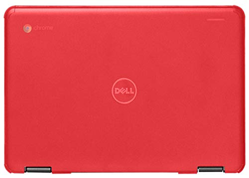 mCover Hard Shell Case for 11.6' Dell Chromebook 11 3181 2-in-1 Series Laptop (NOT Compatible with 210-ACDU / 3120/3180 / 3189/5190 Series) - Dell-C11-3181 Red