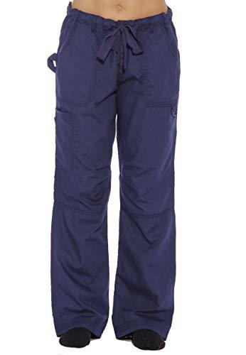 24000PNVY-1X Just Love Women's Utility Scrub Pants / Scrubs, Navy Utility Pant, 1X