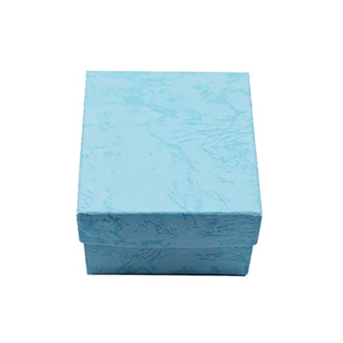 Kcopo Geschenkschachtel Geschenkbox Mitgebsel Schachtel Geschenke Schmuck Uhren mit Geschenk-Box zur Hochzeit Party Oder Kindergeburtstag (Himmel-Blau)