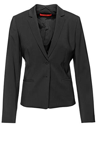 HUGO Damen Blazer The Short Jacket Schwarz 38