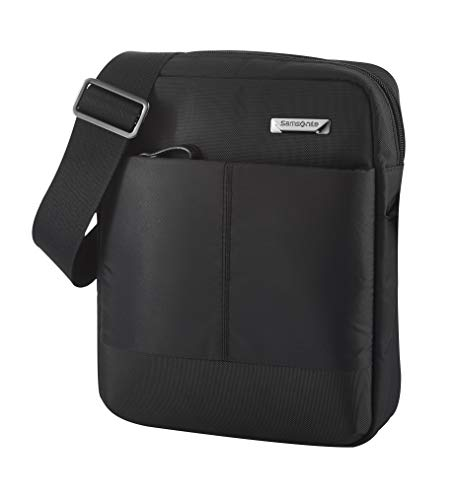 Samsonite Hip-Tech 2 Bolsas de mensajero, Tablet M, 9.7 Zoll (24cm - 3.5L), Black