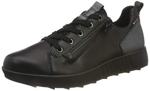 Legero Damen ESSENCE Gore-Tex Sneaker, SCHWARZ 0100, 42.5 M EU