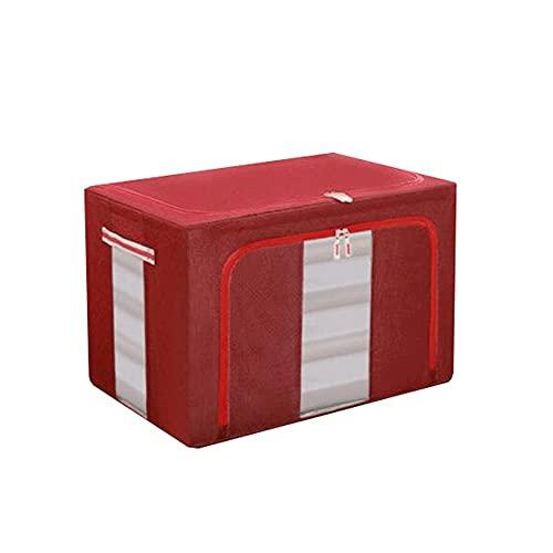 Dabeigouzzhiwl almacenaje, 1 unids Organizador de Armario Plegable Bolsas de Almacenamiento de Ropa excelente para Ropa, Mantas, armarios, dormitorios y más (S 19.6x15.7x12.9in, m 23.6x16.5x15.7in)