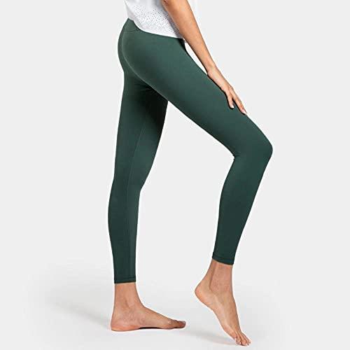 Alta Cintura Leggings Sport Pantalones,Pantalones de Yoga elásticos de Cintura Alta, Leggings Delgados y de Secado rápido-Tinta_XS,Leggings Push Up Mujer Mallas Pantalones