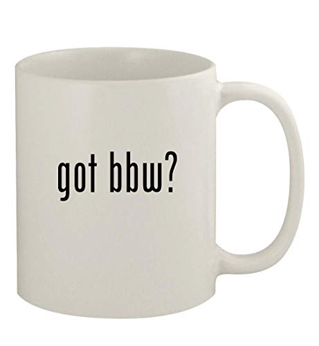 got bbw? - 11oz Ceramic White Coffee Mug, White