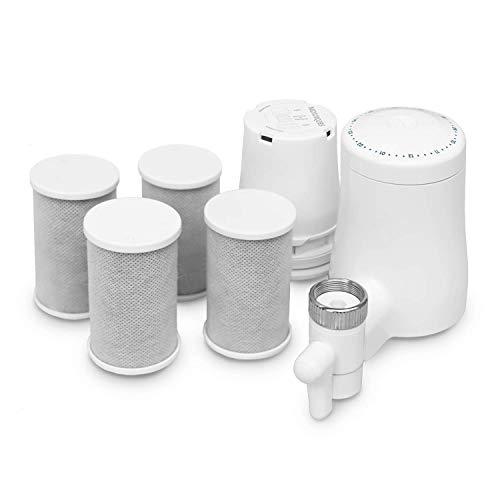 TAPP 2 Twist - Jahrespack - Nachhaltiger Wasserfilter für den Wasserhahn - beseitigt schlechten Geschmack und Geruch. Filtert Kalk und mehr als 80 Schadstoffe | Ohne Werkzeug anzubringen