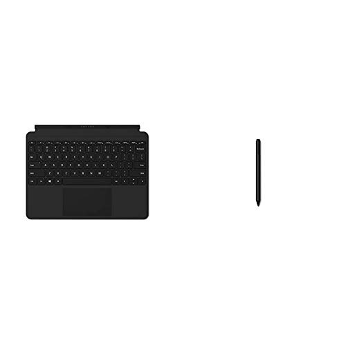 Microsoft KCM-00003 Surface Go Type Cover - Black & Surface Pen - Grey