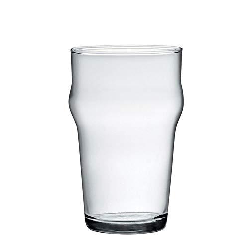 BORMIOLI Rocco Set 12 Bicchieri Vetro Nonix Birra Cl29 Arredo Tavola