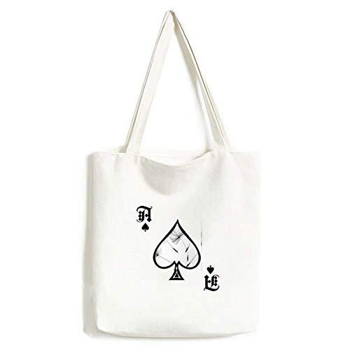 Pusteblume Handtasche, waschbar, Schwarz / Grau / Weiß