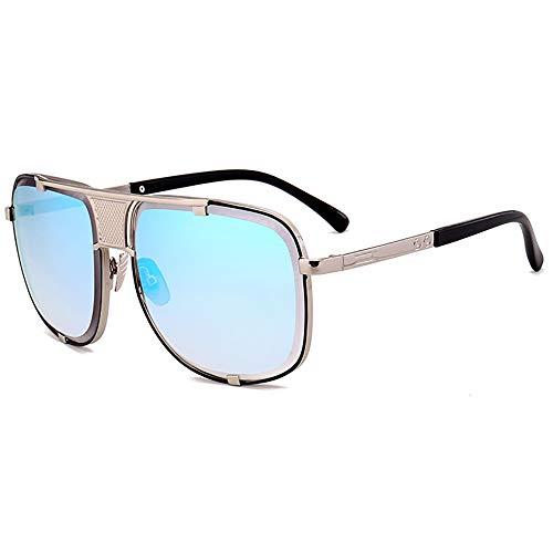 Sport pilot sonnenbrille fahren metall - stil frame männer sonnenbrille frauen hip - hop 100% uv - schutz