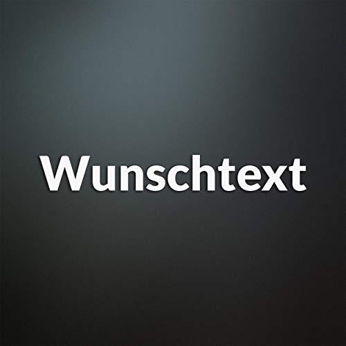 Wunschtext Aufkleber personalisiert - Wunschname/Auto/Tuning/JDM/Motorrad/Haushalt/Laptop/Wand Tattoo/Kindername