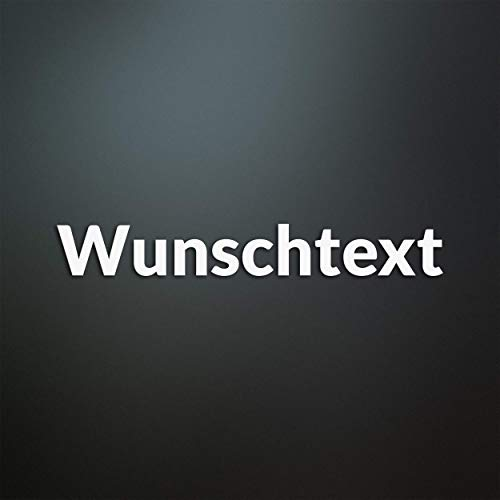 Wunschtext Aufkleber personalisiert - Wunschname/Auto/Tuning/JDM/Motorrad