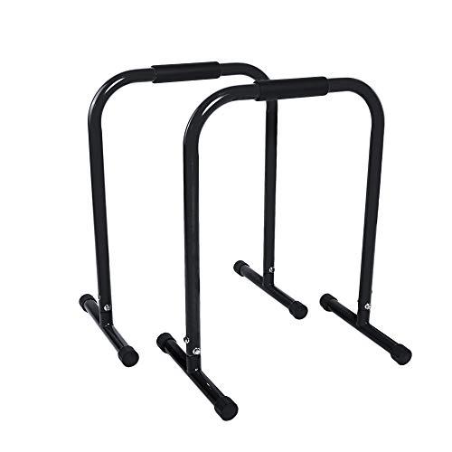 BESTIF Dip Barren 2er Set | Dip Station für Dips Liegestütze | Stand Bar für Training mit Eigengewicht | bis 150kg Belastbar