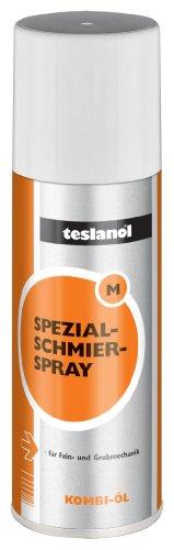 Teslanol 26010 Mechanikschmierspray zur Schmierung von Instrumenten und Geräten jeglicher Art - 200 ml