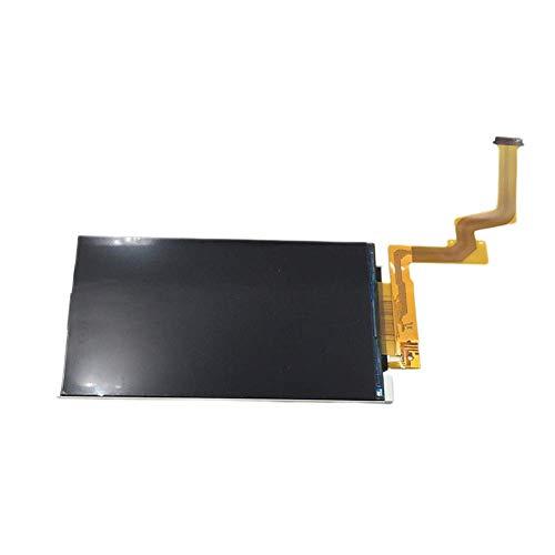 Recambio Pantalla para 2DS XL, Recambio Superior y Inferior Pantalla LCD para Nueva 2DS XL Ll Juego Consola Reparación Piezas Pantalla - Negro, Top