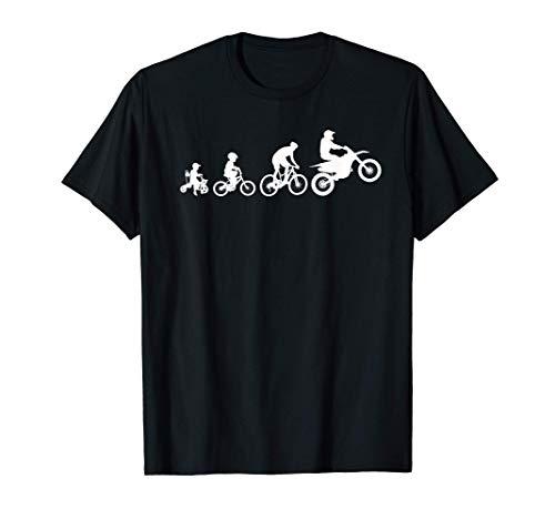 Motocross Diseño Para Niños Jóvenes De Regalo Dirtbike Biker Camiseta